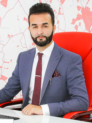 Imran at Esquire Agents in Luton